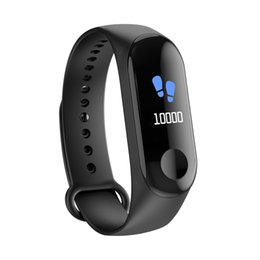 """Rate Touch Screen Watches NZ - Smart Bracelet 0.78"""" OLED Color Touch Screen Blood Pressure Heart Rate Monitor Wristband Waterproof Watch Sport Fitness Tracker"""