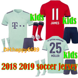 0796727c98b Liverpool Jersey Canada - New 18 19 kids Soccer jersey JAMES VIDAL COATA  LEWANDOWSKI MULLER ROBBEN