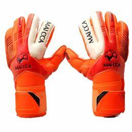 $enCountryForm.capitalKeyWord NZ - Professional Soccer Goalkeeper Glvoes Latex Finger Protection Fingerstall School Children kids Football Goalie Gloves free shipping