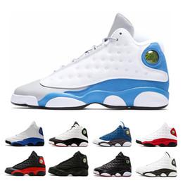 Blue Sky Game Canada - NEW 13 Phantom basketball shoes men He Got Game Hyper Royal GS Italy Blue Altitude Love & Respect Black Cat DMP Bred sports sneakers