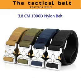 Inner Belt Australia - 2018 New High Quality Fashion Cheap 1000 D True Army Nylon Outdoor Tactical Duty Training Waist Belt with Quick Release Cobra Alloy Buckle
