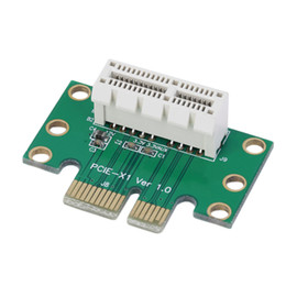 Freeshipping 10pcs New PCI-E PCI Express 1X Adapter Riser Card 90 Degree For 1U Server Chassis Wholesale
