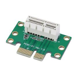 Venta al por mayor de Envío gratuito 10 unids PCI-E PCI Express 1X Adaptador de tarjeta vertical 90 grados para 1U chasis de servidor al por mayor