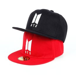 56b1bb8764a 2017 New Hiphop Kpop bangtan boys bts style dont forget me embroidery  Unisex baseball cap men women snapback cap hats