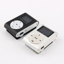Mini Mp3 player 32gb online shopping - MP3 Music Player LCD Screen Mini Recorder Slim Mp3 Player Support Micro TF Card Slot GB