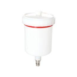 Discount pneumatic connectors - Plastic Spray Gun Pot Container Threaded Connector for Spray Machine Tool Spray Paint Gun Cup Pot Pneumatic Tool Accesso