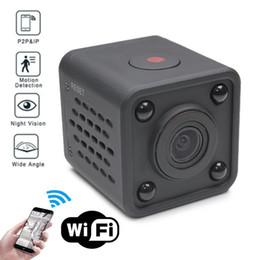 wifi voice recorder 2019 - Wifi IP Mini Camera Wireless Infrared Body Camera Night Vision Motion Detection Mini DV Voice Video Recorder 1080P HD Ca