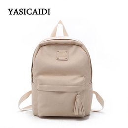 97a15328e6 Brand Women Backpacks Fashion PU Leather Back Packs for Teenage Girl  Daypack Female Zipper School Bag Escolar back school girl backpacks  promotion