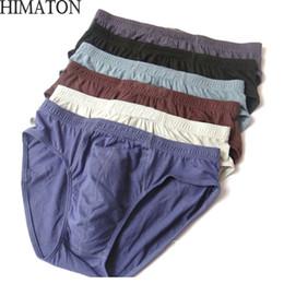 Hombres 100% algodón calzoncillos para hombre calzoncillos cómodos hombre  ropa interior calzoncillos sólidos 6 unids   lote para hombre breve Bikini  ropa ... d31ecbe43b78