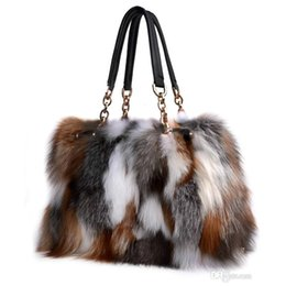 4c0a9f98ac Fox Fur Handbags Fashion Women Winter Luxury Bag Genuine Leather Shoulder  Bags Bolsa Feminine Messenger Bags