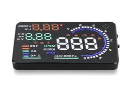 "$enCountryForm.capitalKeyWord Australia - Most popular 5.5"" car HUD OBD2 head up display car projector HUD alarm system auto brightness adjustment"