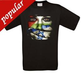 Venta al por mayor de Cool Funny T Shirt Camisetas de alta calidad Palestina Libre Gaza Banco de Occidente camiseta todos los nuevos Hot Sell Casual Clothing
