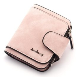 ladies slim wallets NZ - FGJLLOGJGSO walet 2018 New smart wallet Ladies Frosted purse casual slim wallet women phone for luxury money bag