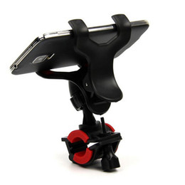 Wholesale 1Pcs Motorcycle MTB Bike Handlebar Clip Stand Mount Bracket Mount Holder Universal For Cell Phone GPS
