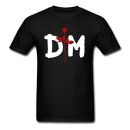 $enCountryForm.capitalKeyWord UK - Hip Hop Novelty T Shirts Men'S Brand Clothing Depeche Mode Summer Print Rock Round Neck Novelty Big Size Tee Top Clothing