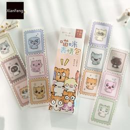 $enCountryForm.capitalKeyWord Australia - 30 pcs pack Lovely Emoji Cat Bookmark Mark of Page Decorative Stationery Film School Office Supply
