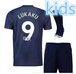 Men s juMpsuits online shopping - kids man soccer jerseys KITS Sanchez RASHFORD FOOTBALL Jumpsuit UtD jerseys football shirt Boys Sets manlian