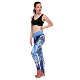 Chinese  Women's Digital Print Sports Yoga Pants New Sexy Workout Leggings Fitness Sports Gym Running High Waist Yoga Athletic Pants manufacturers