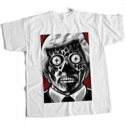 71ca770452f They Live Movie Film T Shirt Halloween 80S Sci Fi Scary Horror 2