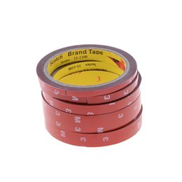 Car Decoration 3m Australia - 6 8 10 15 20mm 3M Double Side Tape Sticky Office Decoration Supplies Adhesive Car Screen Repair Stationery Supplies 2016