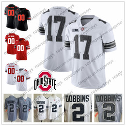 Custom 2018 Ohio State Buckeyes White Gray Black Camo Jersey Haskins Jr.  George Dobbins Red OSU College Football Stitched Any Number Name 94f2ff0d3