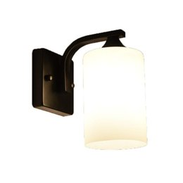 $enCountryForm.capitalKeyWord UK - Nordic Bedside Wall Lamp American Style Bedroom Wrought Iron Vintage Wall Lamp Industrial Wind Corridor Loft Aisle Light