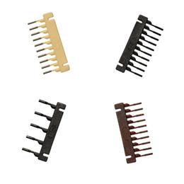 Vente en gros Boucle de cheveux 6D pour la machine 6D Hairextension 40pcs / lots Outils de connecteur de perruque de cheveux Remy Livraison gratuite