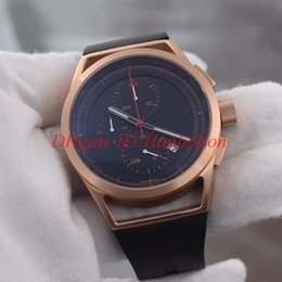 232cf142dbce Reloj de hombre de la venta caliente PD Batería multifunción movimiento  cronógrafo correa de caucho de cuarzo Deporte esfera negra 47mm reloj de  coche de ...