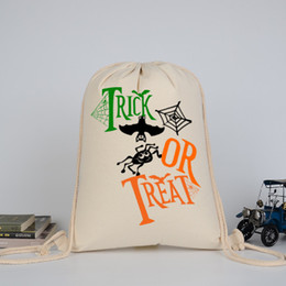 Discount large easter gift bags 2018 large easter gift bags on fashion classic large capacity high quality canvas drawstring bag shoulder bag halloween gift bag candy organizer customizable colors affordable large negle Image collections