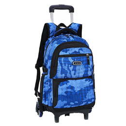 China Hot Boys Trolley backpack Girls Wheeled School Bag children Travel Luggage Suitcase On Wheels kids Rolling book bag detachable supplier suitcase girl suppliers