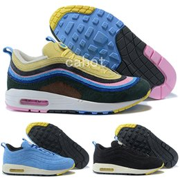 a1cb299f96c7 2018 Sean Wotherspoon x 97 VF SW Hybrid Men Running Shoes Authentic 97s  Ultra Multicolor Mens Womens Trainers Sports Sneakers Size 5-12