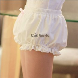 Cosplay Underwear Canada - Lolita Sweet Bloomers Underwear Leggings Safety Pants Costumes costume cosplay shorts