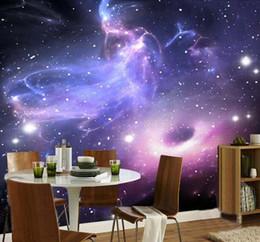 Custom Mural 3D Room Wallpaper European Style Galaxy Cloud Wall Mural  Fluorescent Wallpaper Living Room Sofa Backdrop Home Decor