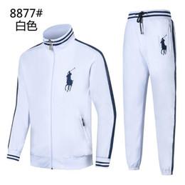Body Tutu Australia - polo Men s Sports Suit Spring and Autumn New Leisure Men s Decoration Body 3 Colour Size M-2XLcm 8877-1 Sports Suit