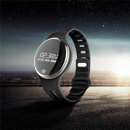 Smart Watch Use Dhl For Shipping Australia - E07 Waterproof IP65 Bluetooth Smart Watch Bracelet Sport Healthy Pedometer Sleep Monitor smart watches for android phones DHL Shipping