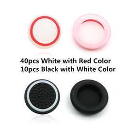 Ps4 griPs online shopping - 50pcs Double Color Protective Thumb Stick Joystick Grip TPU Cover Case Cap for PS4 PS3 Xbox Xbox one Controller