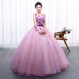 Quinceanera Dresses 2018 Flowers Sweet 16 Girls Debutante Prom Party Dress  Formal Occasion Masquerade Pageant Gowns 7d9ccd08d333