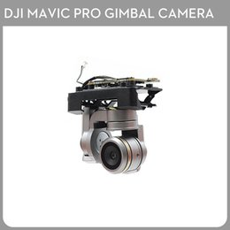 Discount camera part drone - Used DJI Mavic Pro Drone can replace the accessory cloud camera Gimbal camera stable platform repair parts uav lens By O