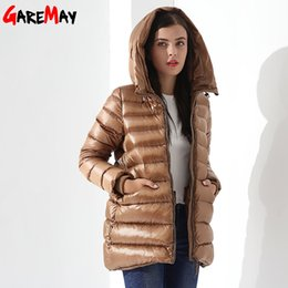 $enCountryForm.capitalKeyWord Australia - Womens Down Jackets Winter Coat Feather Jacket Down Parka Loose Womens Coats Hooded Outwear Casual Clothing For Women Garemay