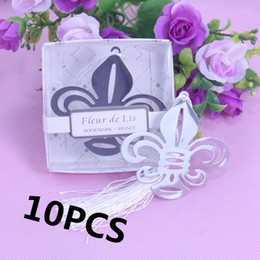 wholesale communion gifts UK - New 10pcs Set Bookmarks Recuerdos Para Bautizo First Communion Baby Shower Souvenirs Wedding Favors and Gifts For Guest