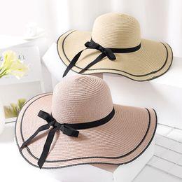 641ecaf412c Packable Sun Hats NZ - HT1686 2018 New Women Summer Hat Ladies Big Wide Brim  Sun