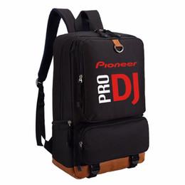 6f94f4de7 WISHOT Pioneer DJ PRO Mochila de Viagem Ombro Saco de Escola Mochila para  adolescentes Casuais Laptop Bags