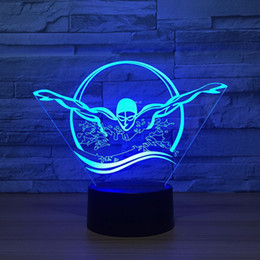 $enCountryForm.capitalKeyWord NZ - Visual 3D Swimming Night Light USB Colorful Visual LED Table Lamp Touch Sleep Light NEW Bedroom Sleeping Christmas Decoration#T56