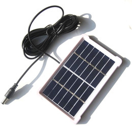 $enCountryForm.capitalKeyWord UK - BUHESHUI 1W 6V Solar Cell With DC5521 Cable 3M Polycrystalline DIY Solar Panel Charger For 3.7V Battery Light 120*85MM 10pcs lot