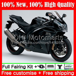 Fairing Bodywork For SUZUKI GSX-R1000 Glossy black GSXR 1000 09 10 11 12 13 15 33MT4 GSX R1000 K9 GSXR1000 2009 2010 2011 2012 2014 2015 from white abs thunderace manufacturers