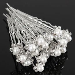 Bridal jewellery hair accessories online shopping - Fashion Pearl Hair Pins Crystal Hair Jewellery Wedding Bridal Jewelry Hair Accessories
