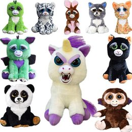 $enCountryForm.capitalKeyWord Canada - Feisty Pets One Second Change Face Animals 20CM 8 Inch Plush Toys Cartoon Stuffed Animals Baby Christmas Gift Naughty Little Pet Doll