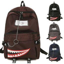 $enCountryForm.capitalKeyWord Australia - Style Men shark mouth backpacks Cartoon Backp Schoolbag Fashion Youth Backpacks Students Clean Shark Mouth Women Travel Backpack