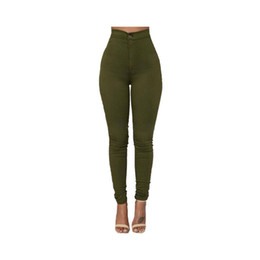 Red fly clothing online shopping - Fashion High Quality Multicolor Women Skinny Jeans High Waist Pencil Stretch Casual Look Elasticity Women Jeans Clothing