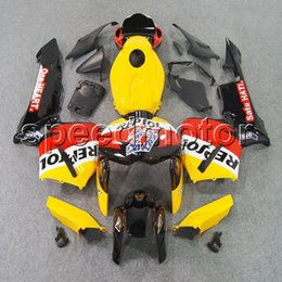 white black repsol NZ - colors+Gifts Injection mold repsol yellow F5 CBR600RR 05-06 CBR600 RR motorcycle cowl Fairing for HONDA 2005 2006 CBR 600RR ABS plastic kit